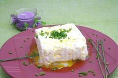 τυρί φρέσκο Στοκ Φωτογραφία