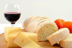 τυρί ψωμιού Στοκ Εικόνες