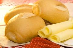 τυρί ψωμιού Στοκ εικόνα με δικαίωμα ελεύθερης χρήσης