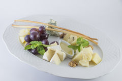 Τυρί όλα τα είδη Στοκ Φωτογραφίες
