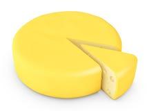 1 τυρί Στοκ Εικόνα