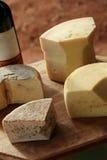 τυρί artisinal Στοκ Εικόνα