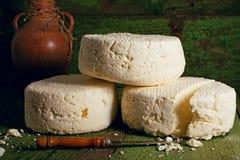 Τυρί Brynza Στοκ εικόνες με δικαίωμα ελεύθερης χρήσης
