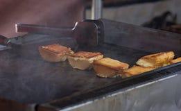 Τυρί Grelled Στοκ Φωτογραφία