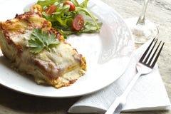 Τυρί Lasagna Στοκ εικόνα με δικαίωμα ελεύθερης χρήσης
