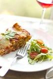 Τυρί Lasagna Στοκ εικόνες με δικαίωμα ελεύθερης χρήσης