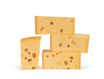 τυρί maasdam Στοκ Φωτογραφία