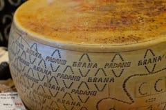 Τυρί padano Grana Στοκ φωτογραφίες με δικαίωμα ελεύθερης χρήσης