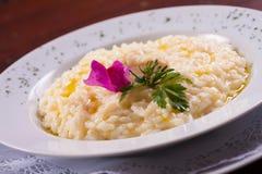 Τυρί Risotto Parmegiano Στοκ εικόνα με δικαίωμα ελεύθερης χρήσης