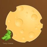 Τυρί Slise Στοκ φωτογραφία με δικαίωμα ελεύθερης χρήσης