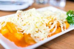 Τυρί Tokpokki Στοκ φωτογραφίες με δικαίωμα ελεύθερης χρήσης