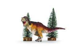 Τυραννόσαυρος δεινοσαύρων rex που επενδύεται με φτερά καλυμμένος Στοκ φωτογραφία με δικαίωμα ελεύθερης χρήσης