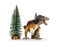 Τυραννόσαυρος δεινοσαύρων rex που επενδύεται με φτερά καλυμμένος Στοκ φωτογραφίες με δικαίωμα ελεύθερης χρήσης