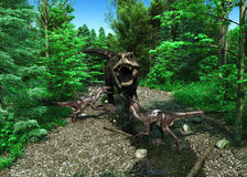 Τυραννόσαυρος Rex 4 Στοκ Εικόνες