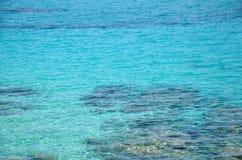 Τυρκουάζ ελληνική θάλασσα Στοκ Φωτογραφία