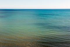 Τυρκουάζ θάλασσα Στοκ Εικόνα
