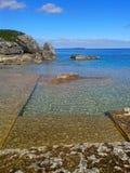 Τυρκουάζ νερά στη χερσόνησο του Bruce Στοκ Φωτογραφίες