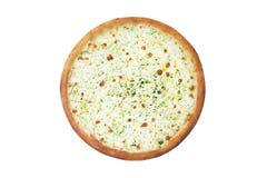 Τυροειδής ιταλική πίτσα Στοκ Εικόνες