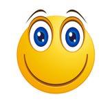 Τυροειδές Smiley - διάνυσμα Στοκ Εικόνες