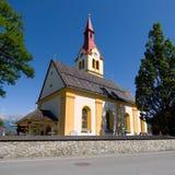 Τυρολέζικη εκκλησία στοκ εικόνα