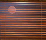 τυφλή νύχτα κουρτινών Στοκ Φωτογραφίες