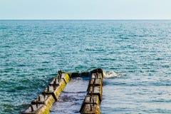 Τυφλοπόντικας στη θάλασσα Στοκ φωτογραφία με δικαίωμα ελεύθερης χρήσης