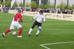 τυφλό ποδόσφαιρο αντιστ&omicr Στοκ Εικόνες