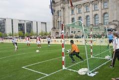 τυφλό ποδόσφαιρο αντιστ&omicr Στοκ Φωτογραφίες
