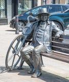 Τυφλό τετραγωνικό knaresborough αγαλμάτων του Jack maket Στοκ Φωτογραφία