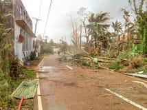 Τυφώνας Γιολάντα Haiyan 2013 Στοκ Φωτογραφία