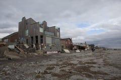 Τυφώνας συνέπειας αμμώδης στοκ εικόνα με δικαίωμα ελεύθερης χρήσης