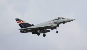 Τυφώνας της Royal Air Force Eurofighter FGR4 Στοκ εικόνα με δικαίωμα ελεύθερης χρήσης