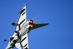 Τυφώνας Eurofighter RAF Fairford στη δερματοστιξία αέρα Στοκ Φωτογραφία
