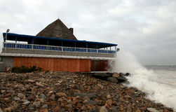 τυφώνας Irene καταστροφής στοκ φωτογραφία