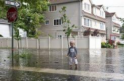 τυφώνας Irene Στοκ εικόνα με δικαίωμα ελεύθερης χρήσης