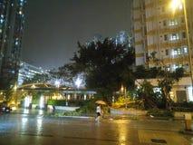 Τυφώνας Mangkhut Atfer στο Χονγκ Κονγκ στοκ εικόνες