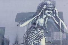 Τυφλές γυναίκες Στοκ εικόνα με δικαίωμα ελεύθερης χρήσης