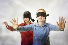 τυφλή οδήγηση Στοκ Φωτογραφίες