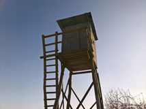 Τυφλός ήλιος κυνηγιού υψηλός στοκ φωτογραφία με δικαίωμα ελεύθερης χρήσης