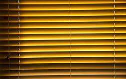 Τυφλός με ξύλινα slats Στοκ φωτογραφία με δικαίωμα ελεύθερης χρήσης