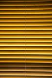 Τυφλός με ξύλινα slats Στοκ Εικόνες