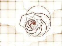 Τυχαία γεωμετρία ψυχής Στοκ εικόνα με δικαίωμα ελεύθερης χρήσης