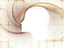 Τυχαία γεωμετρία ψυχής Στοκ Εικόνες