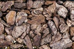 Τυχαία και σύσταση πετρών μεγεθών μιγμάτων στο Hokkaido, Ιαπωνία Στοκ φωτογραφίες με δικαίωμα ελεύθερης χρήσης