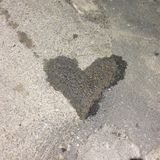 Τυχαία καρδιά Στοκ Φωτογραφίες