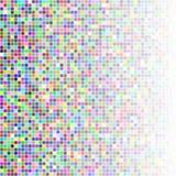 Τυχαία χρωματισμένα τετράγωνα Στοκ Εικόνα