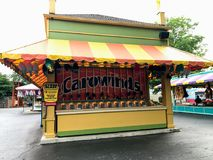 Τυχερά παιχνίδια σε Carowinds, Σαρλόττα, NC Στοκ φωτογραφία με δικαίωμα ελεύθερης χρήσης