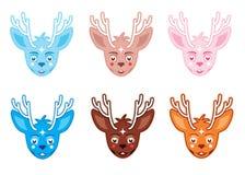 Τυχερά deers Στοκ Εικόνες