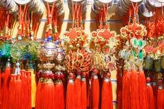 Τυχερές κινεζικές γοητείες Στοκ εικόνες με δικαίωμα ελεύθερης χρήσης