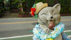 Τυχερή γάτα Στοκ εικόνα με δικαίωμα ελεύθερης χρήσης